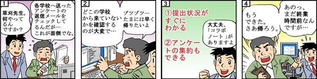 Publicの4コマ漫画
